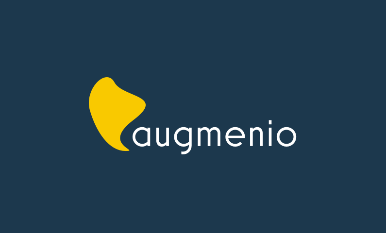 augmenio logo - Business name for a company in the tech industry