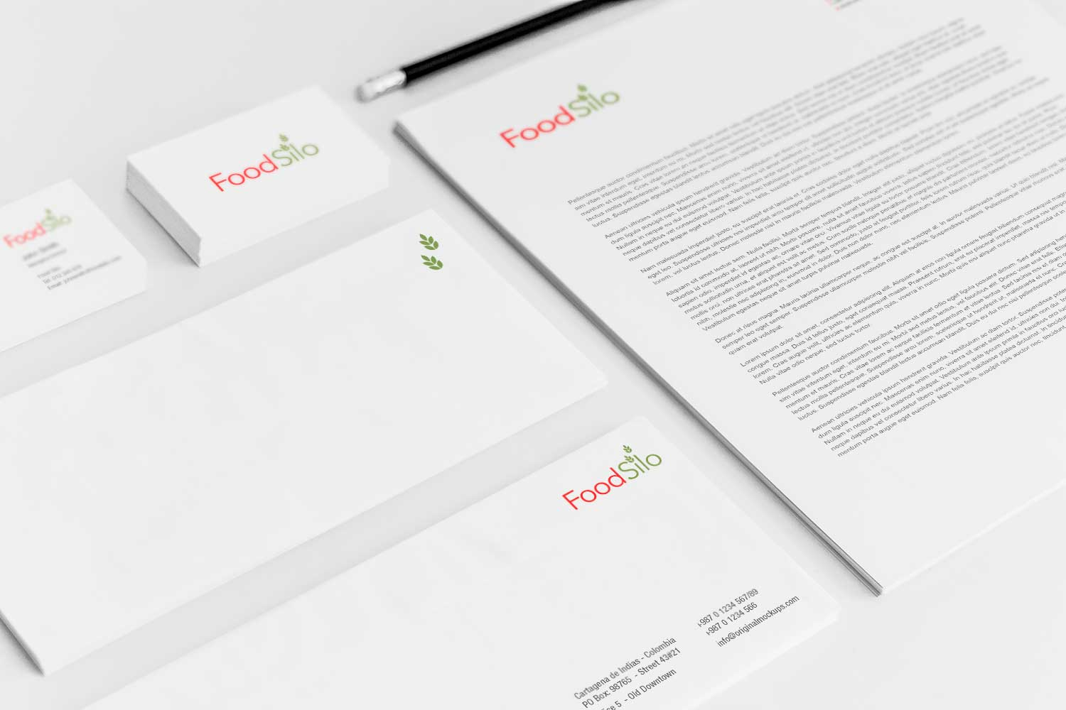 Sample branding #3 for Foodsilo
