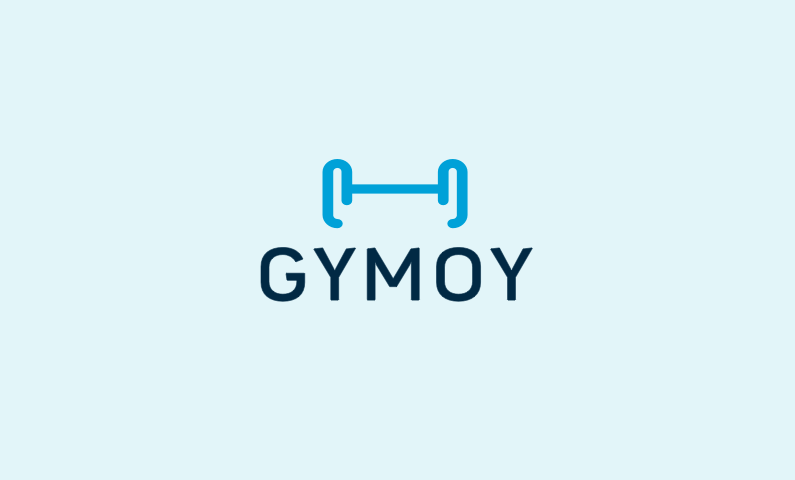 gymoy logo - Domain name for a company in the sports industry
