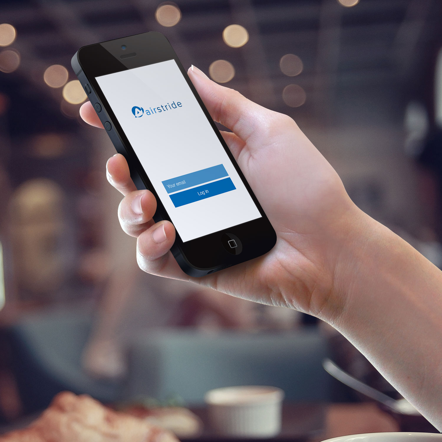 Sample branding #1 for Airstride