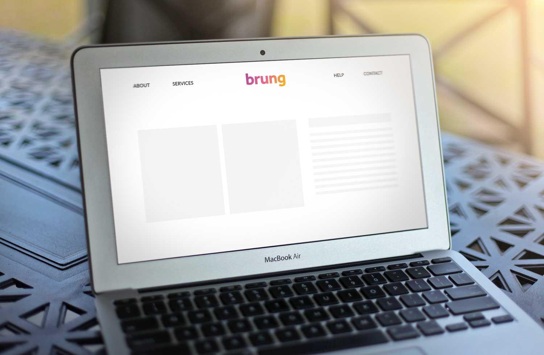 Sample branding #2 for Brung