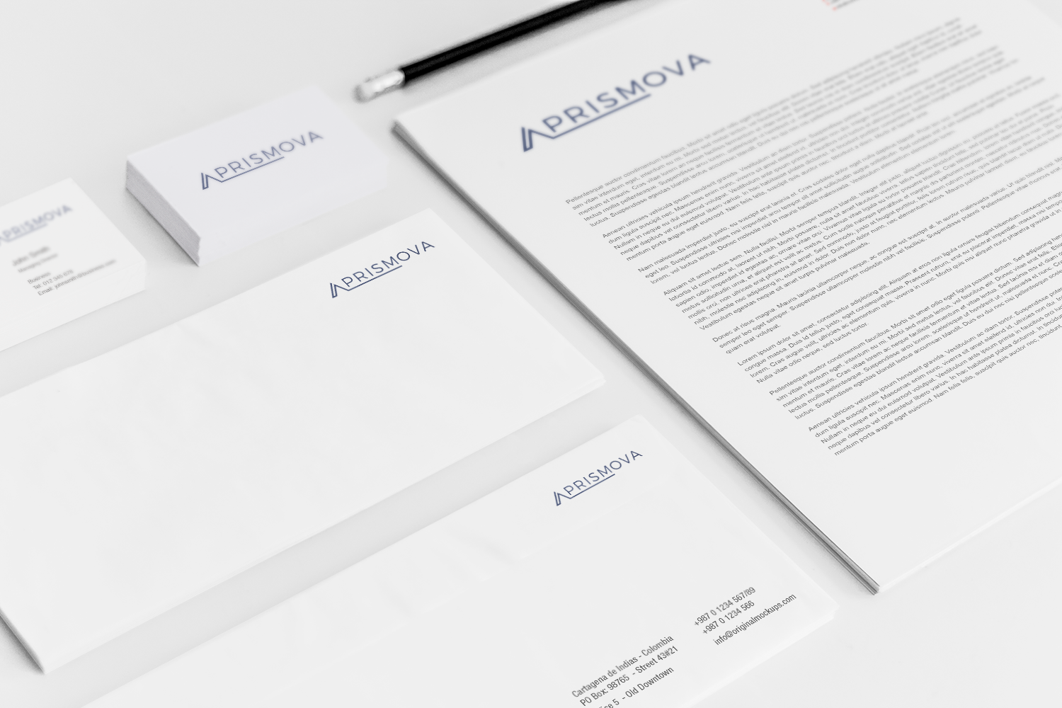Sample branding #3 for Prismova