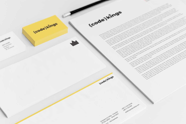 Sample branding #3 for Codekings