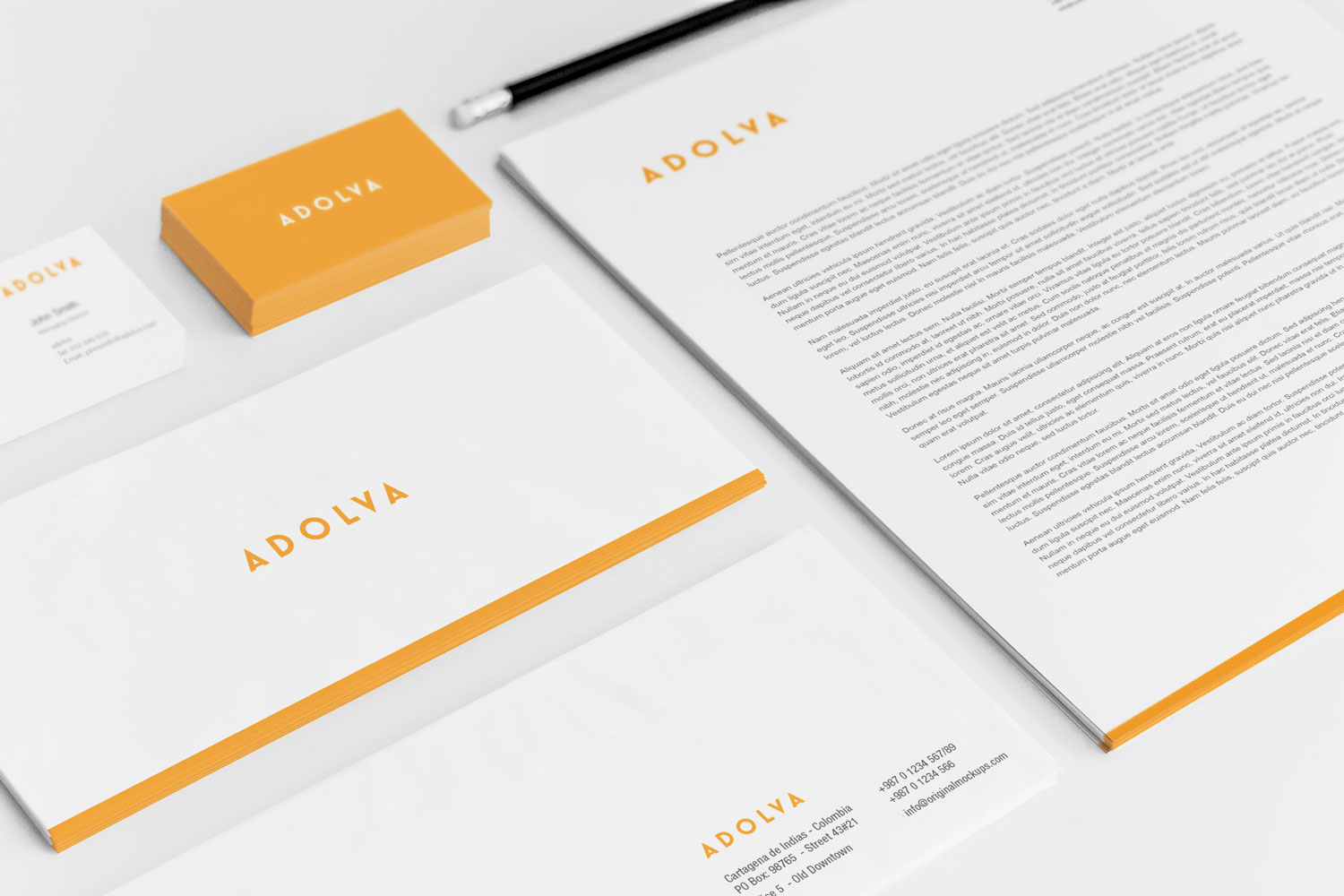 Sample branding #2 for Adolva