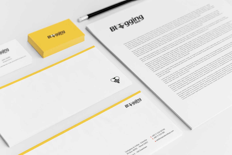 Sample branding #3 for Bloggingbee