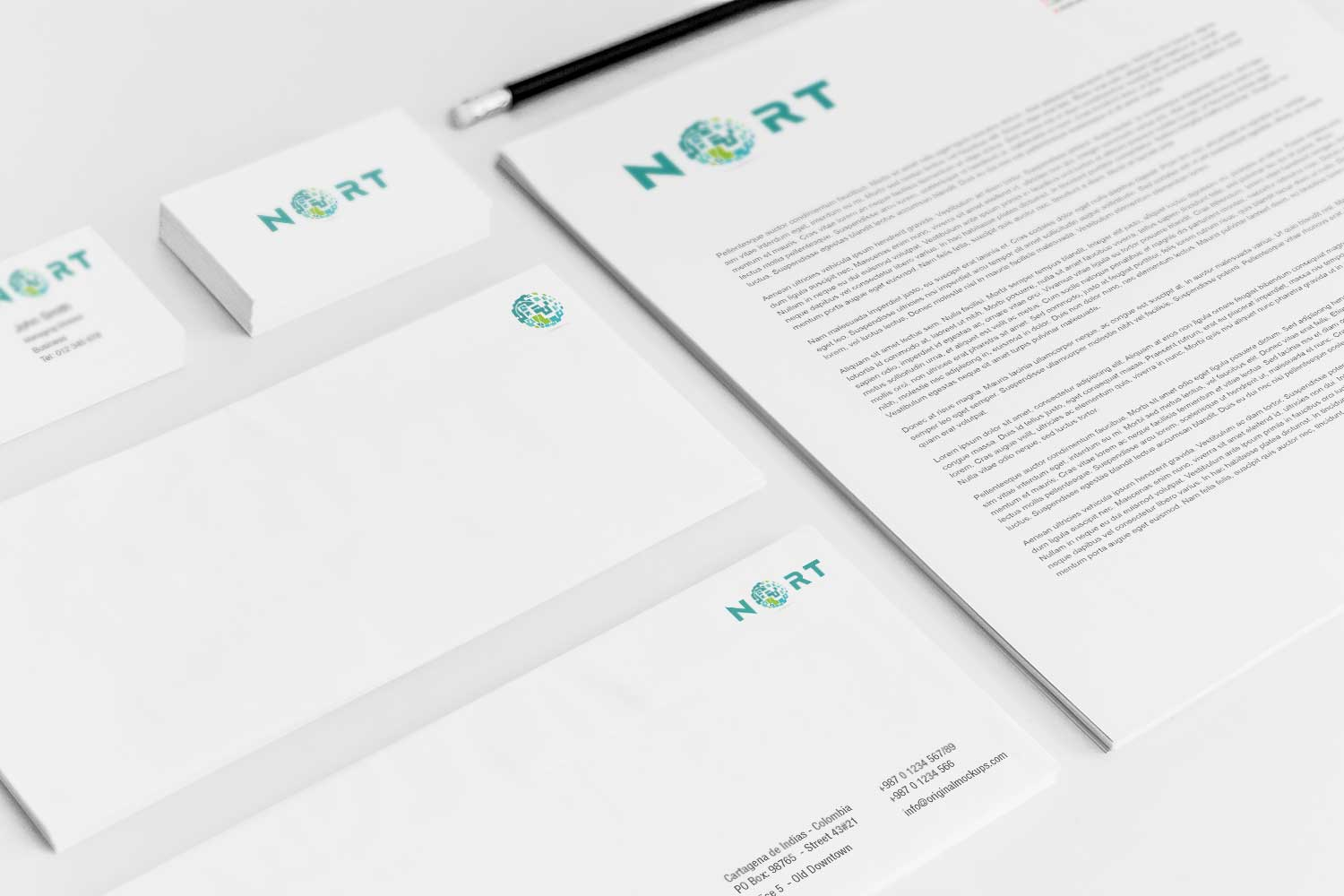 Sample branding #3 for Nort