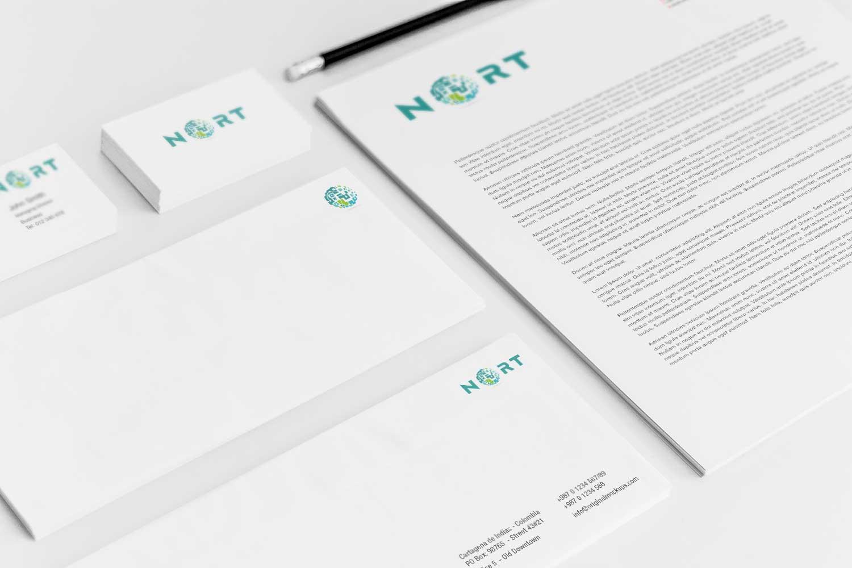 Sample branding #3 for Nort