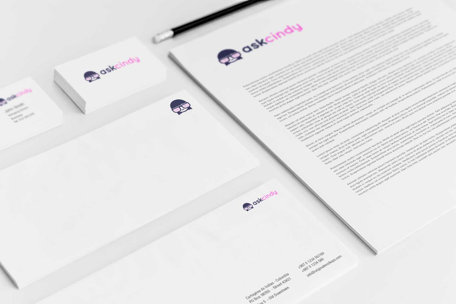 Sample branding #3 for Askcindy