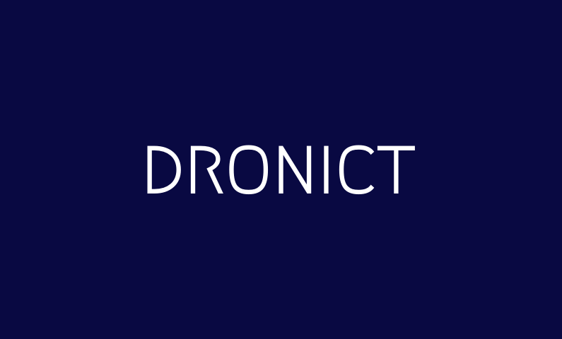 Dronict - Short business name for a drone company