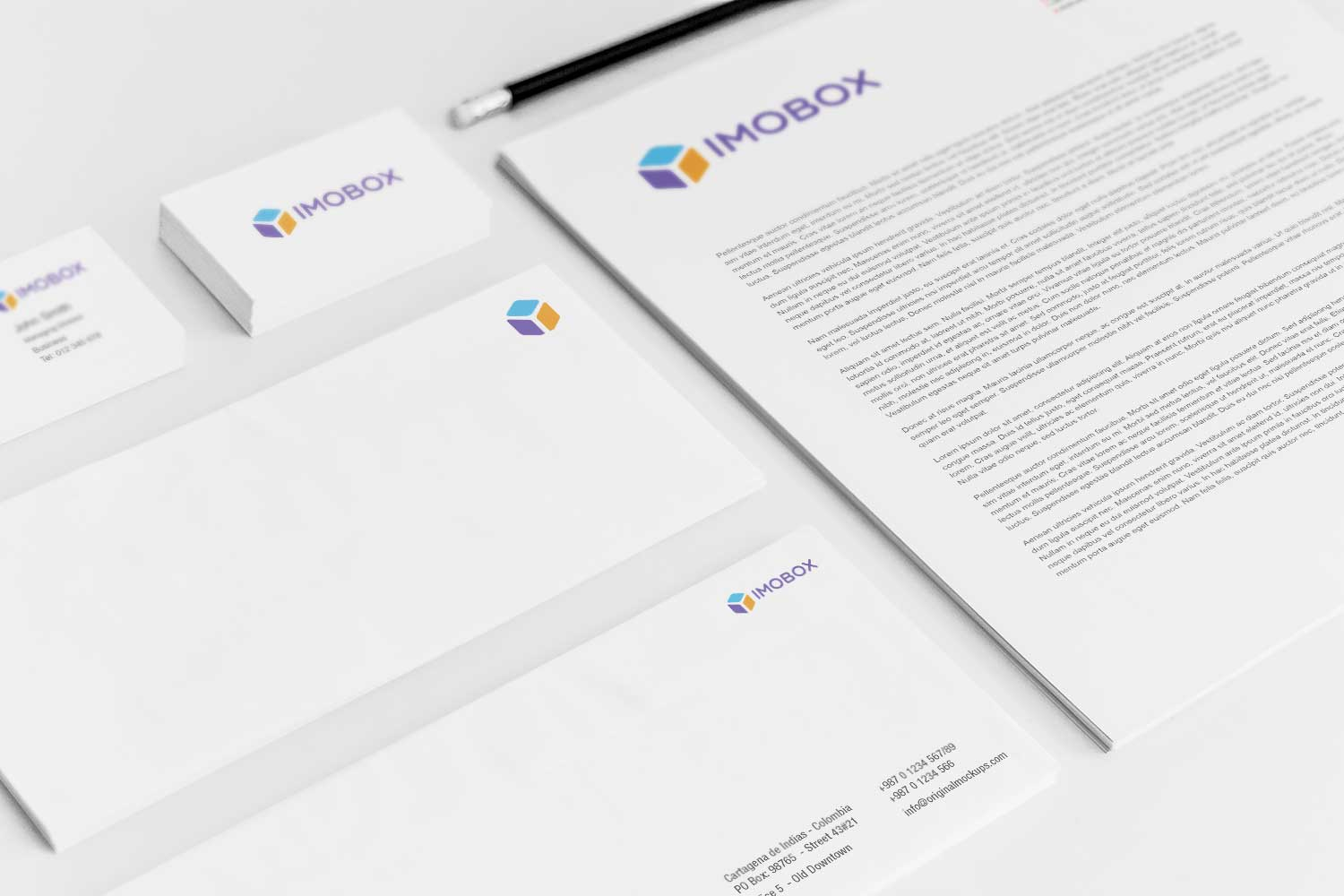 Sample branding #3 for Imobox