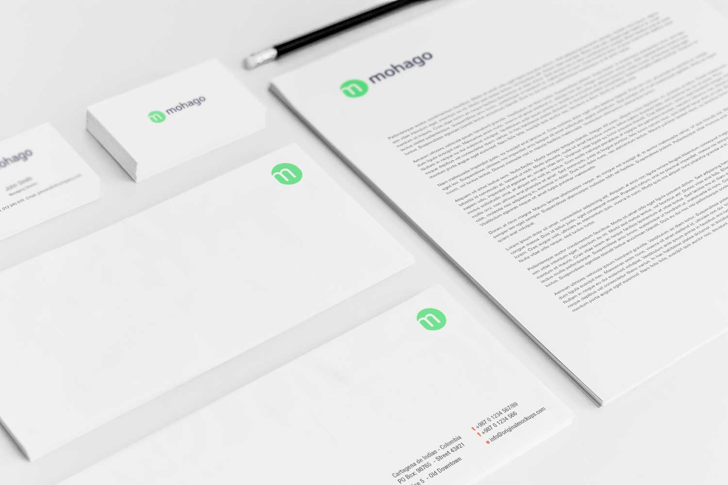 Sample branding #3 for Mohago