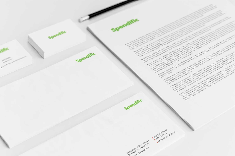 Sample branding #3 for Spendific
