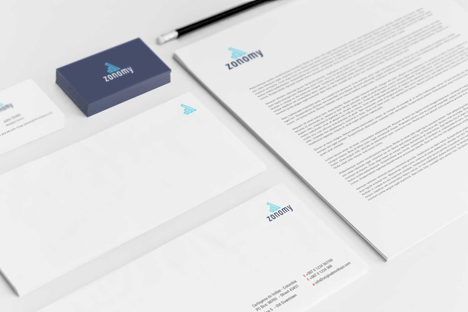 Sample branding #3 for Zonomy