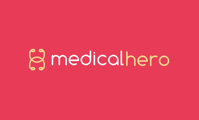 Medicalhero - Strong medical domain name