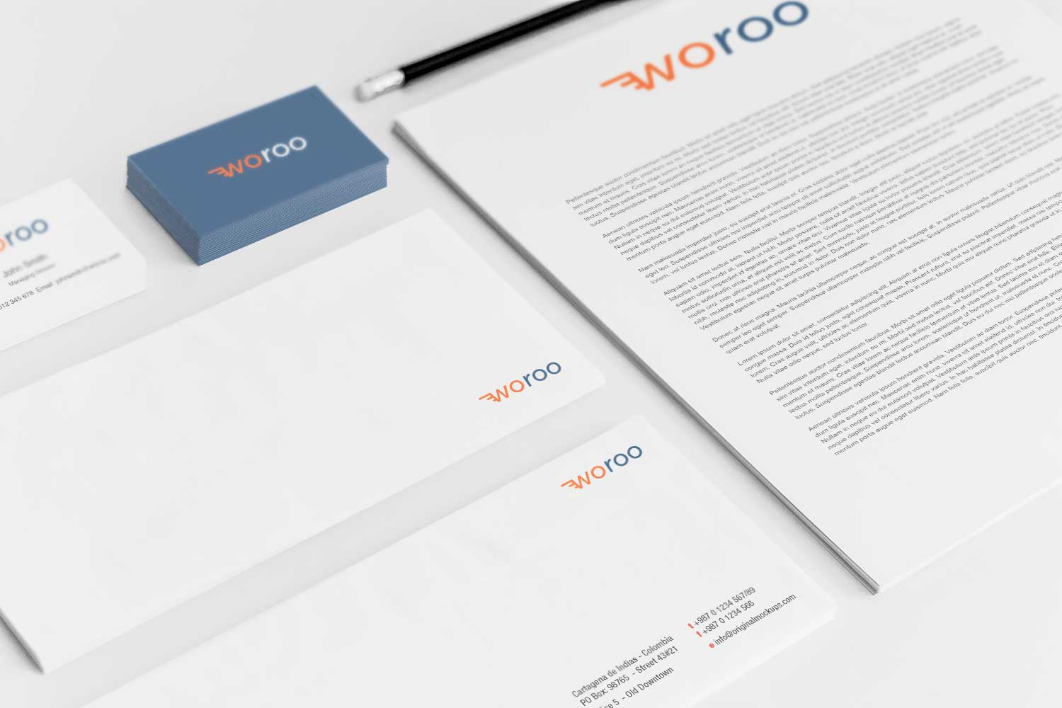 Sample branding #3 for Woroo