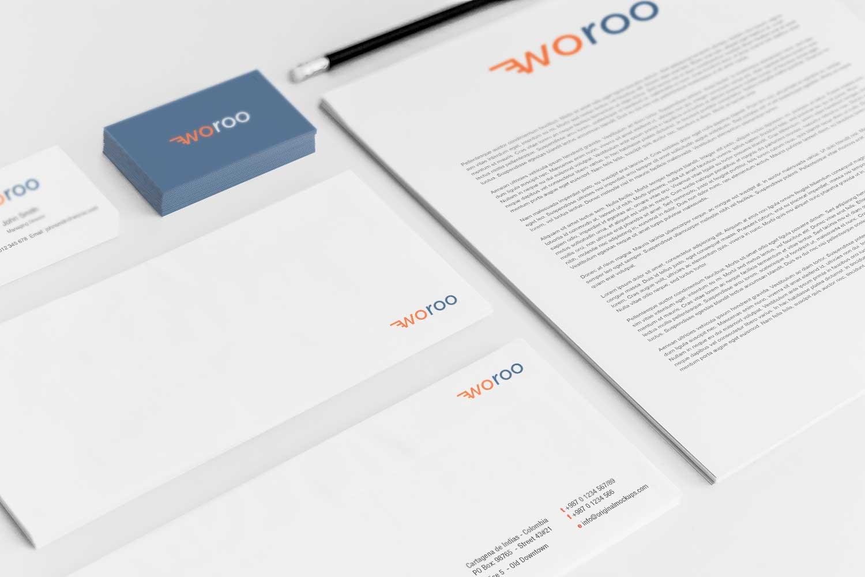 Sample branding #3 for Woroo