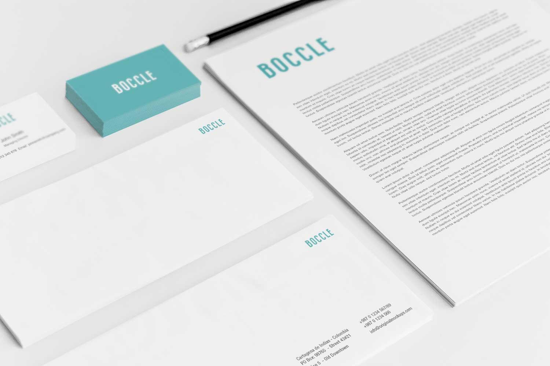 Sample branding #3 for Boccle