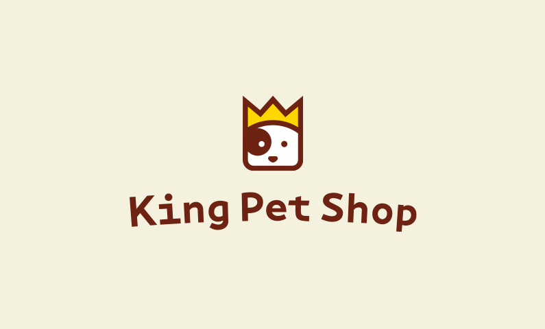 Kingpetshop - Business name for a company in the animal industry