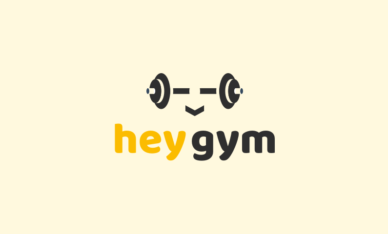 Heygym - Brand name for a company in the sports industry