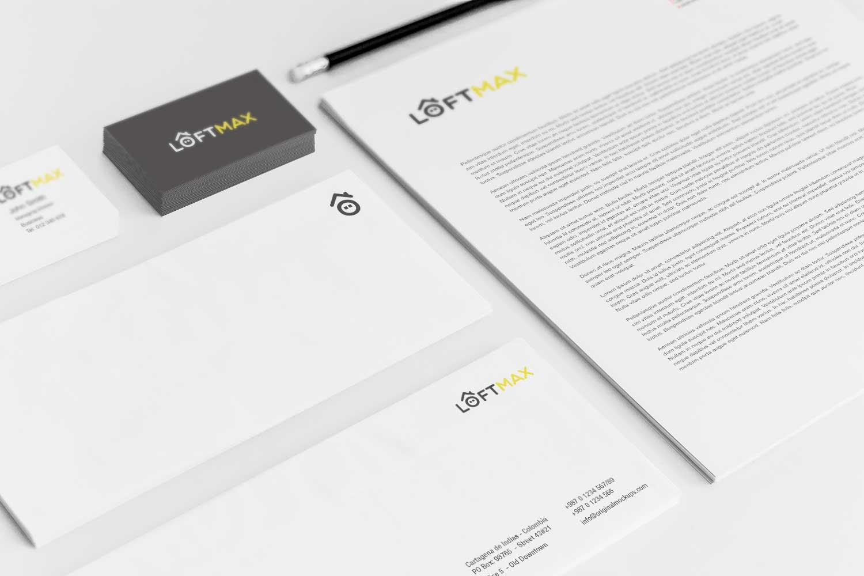 Sample branding #3 for Loftmax