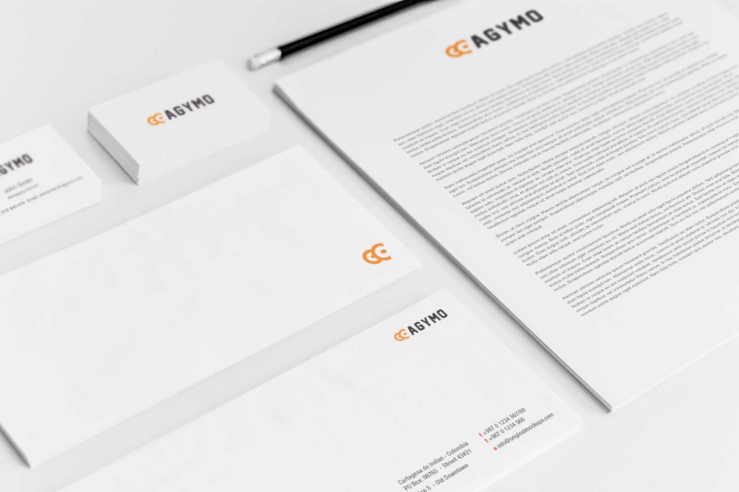 Sample branding #3 for Agymo