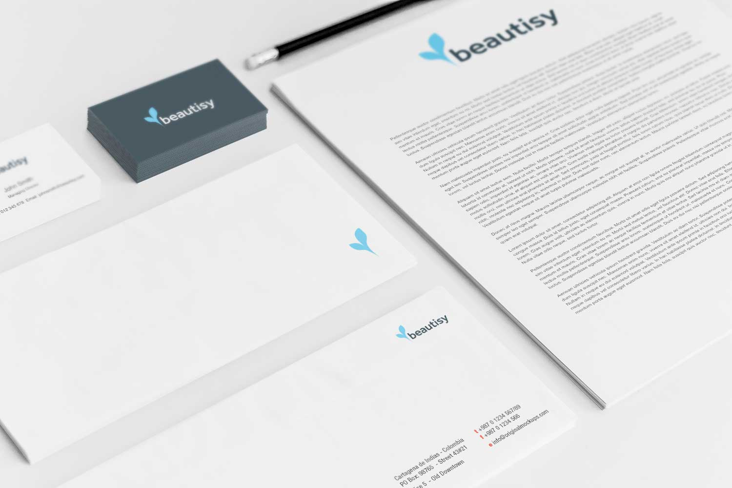 Sample branding #3 for Beautisy