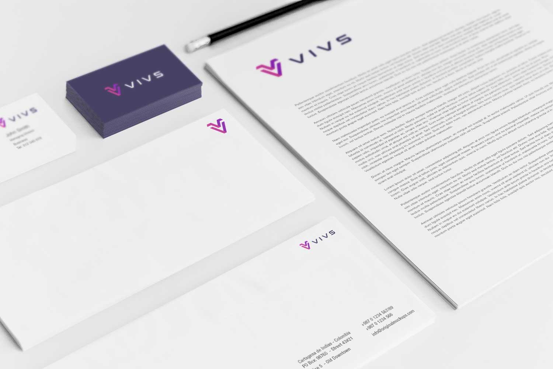 Sample branding #3 for Vivs