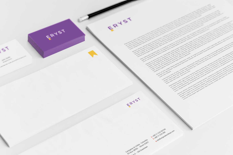 Sample branding #3 for Eryst