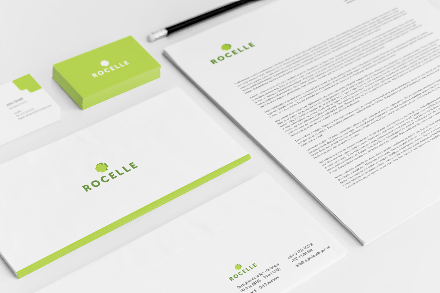 Sample branding #2 for Rocelle