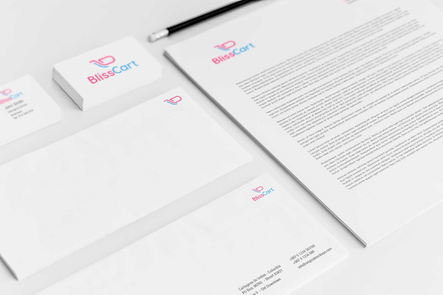 Sample branding #3 for Blisscart