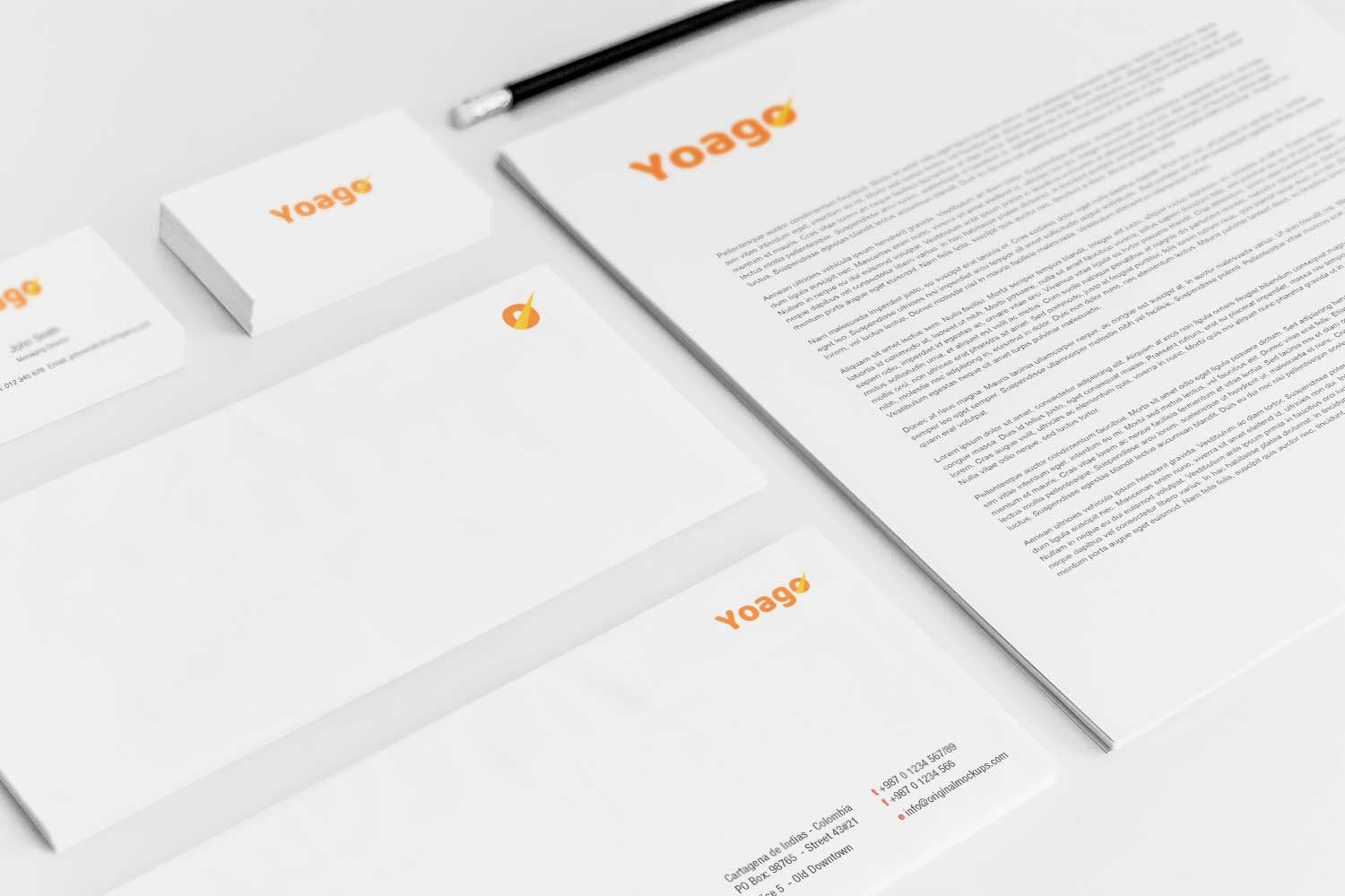 Sample branding #3 for Yoago