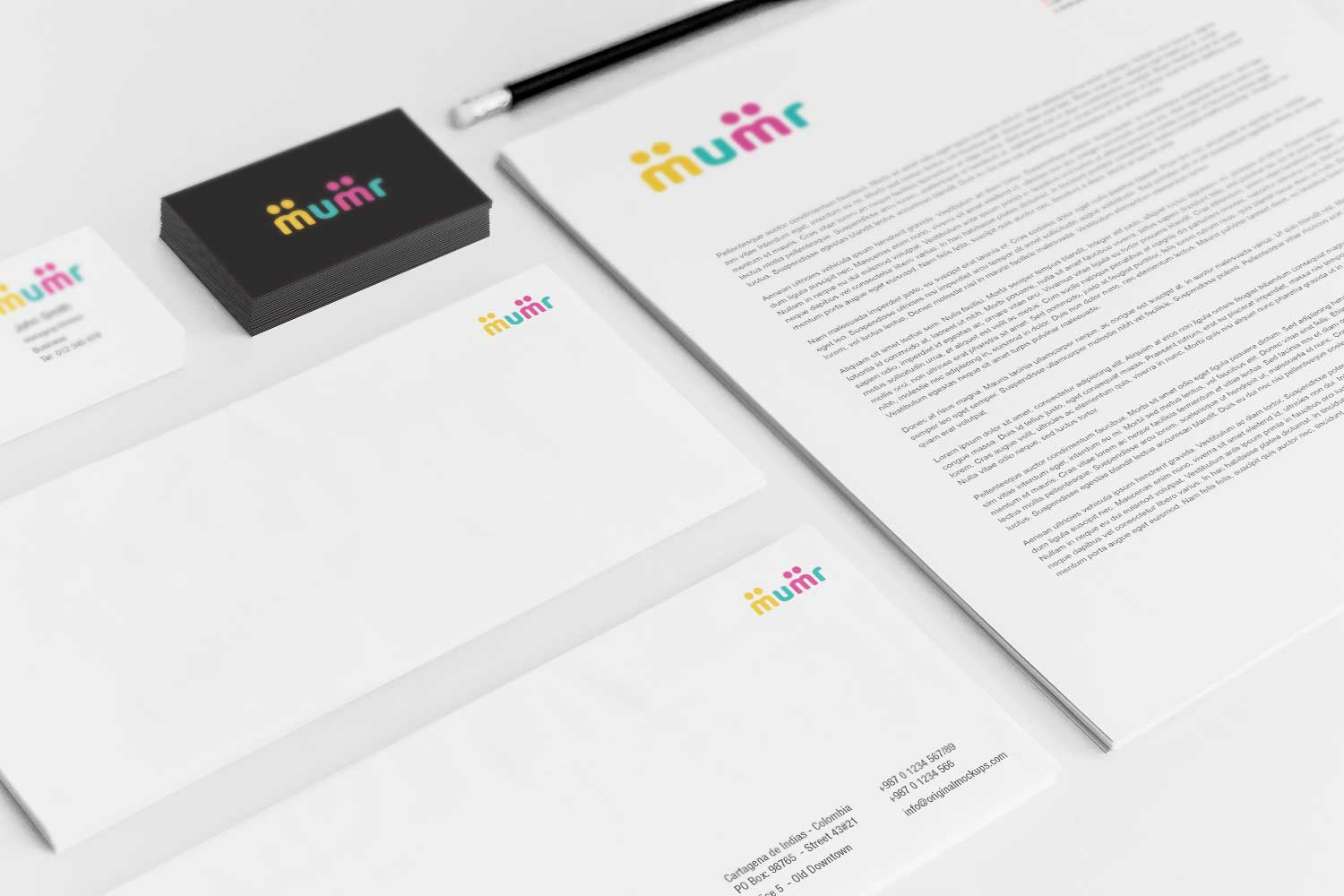 Sample branding #3 for Mumr