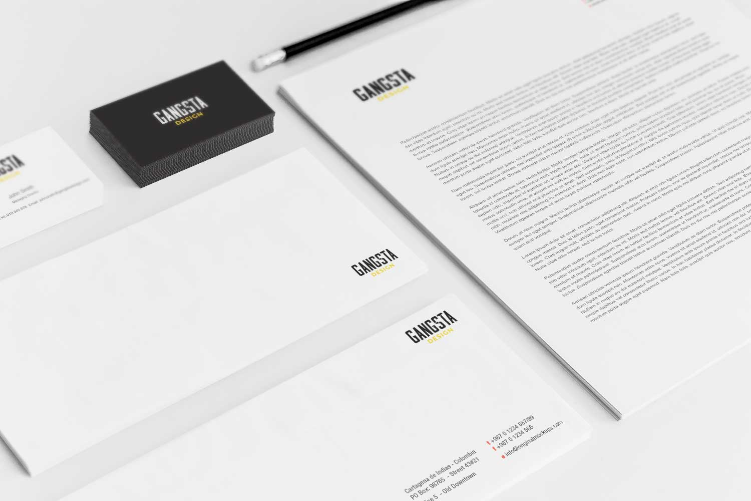 Sample branding #3 for Gangstadesign