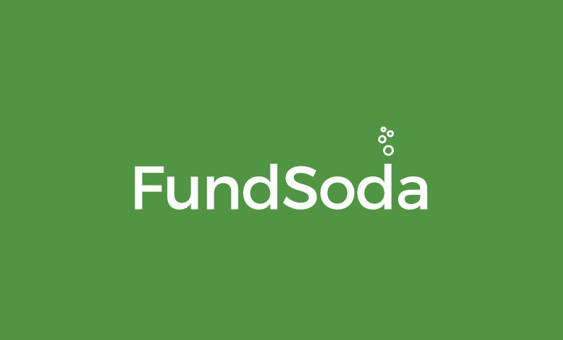 Fundsoda - Fundraising startup name for sale