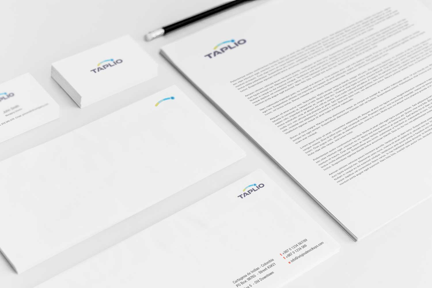 Sample branding #3 for Taplio