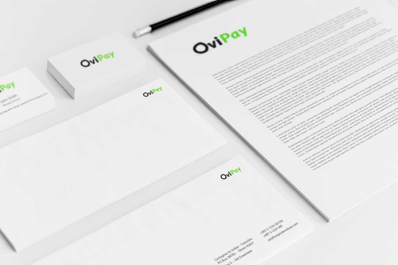 Sample branding #3 for Ovipay