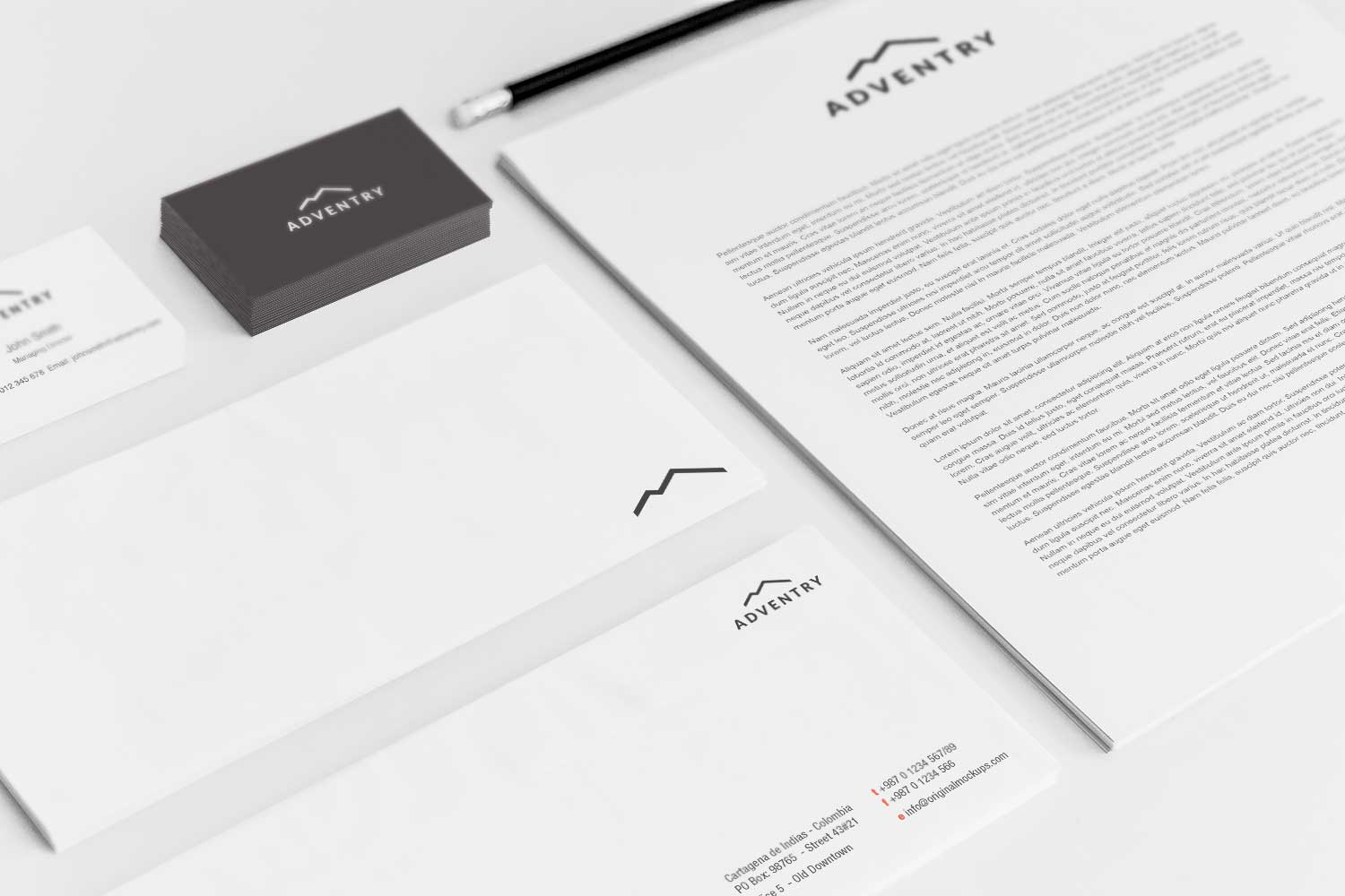 Sample branding #3 for Adventry