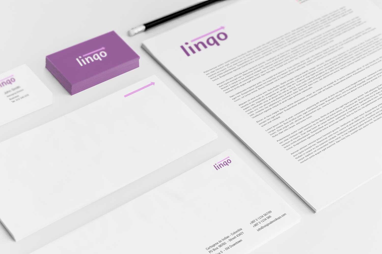 Sample branding #3 for Linqo