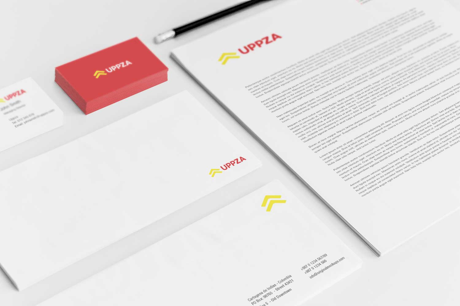 Sample branding #3 for Uppza
