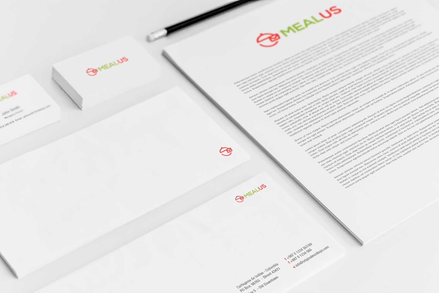 Sample branding #3 for Mealus