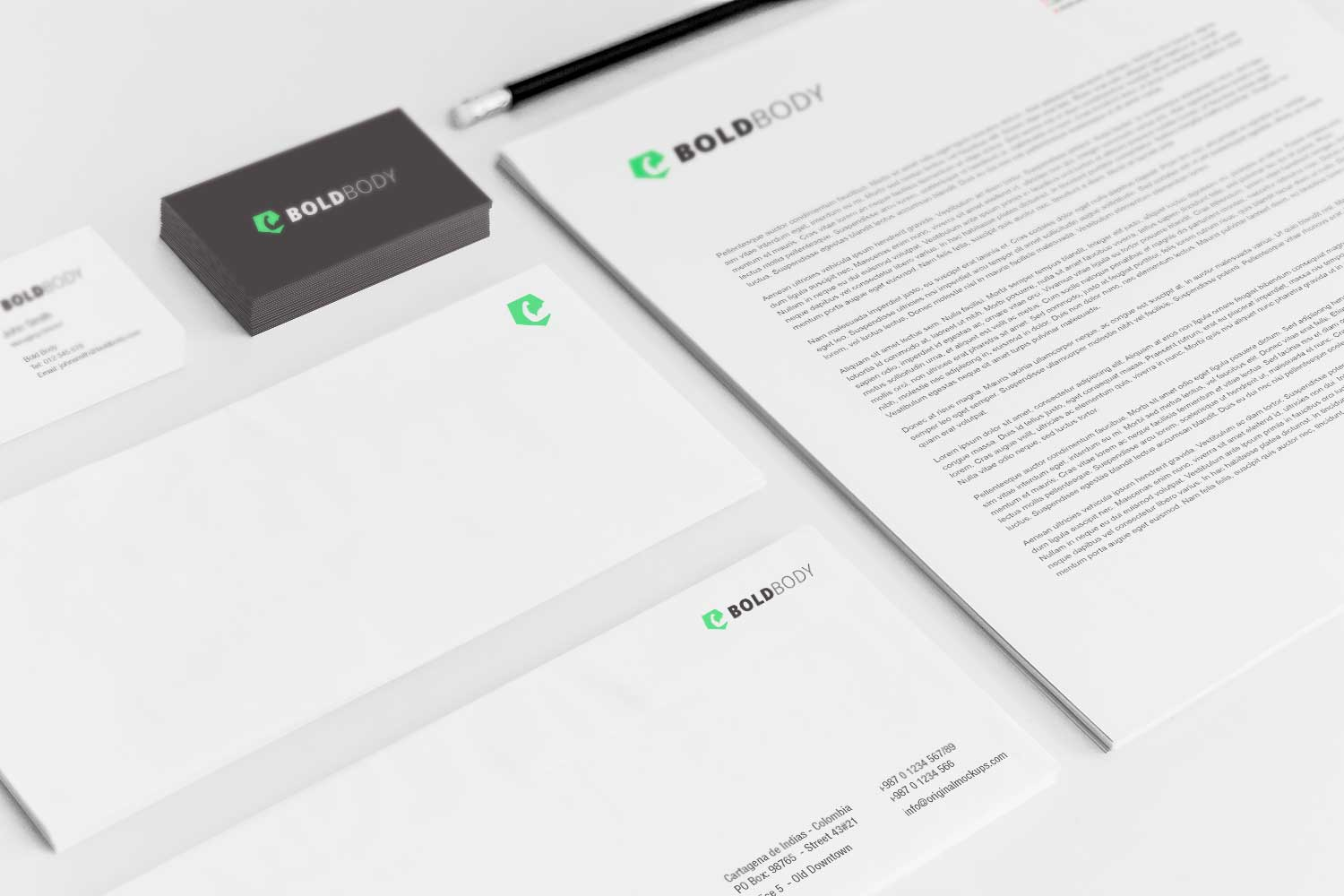 Sample branding #3 for Boldbody