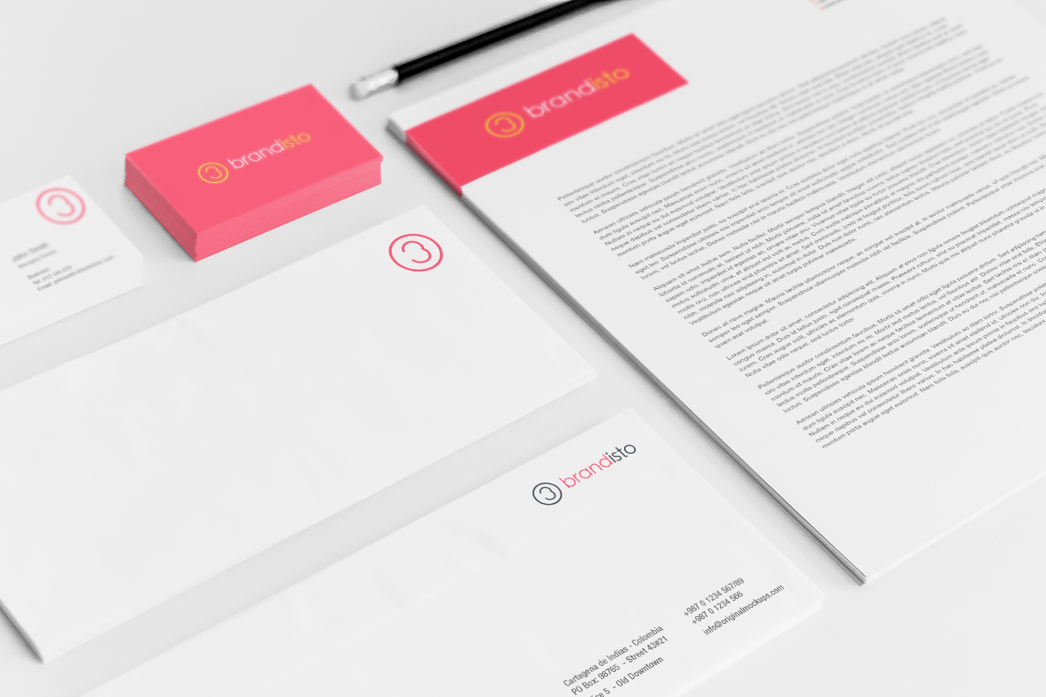 Sample branding #3 for Brandisto