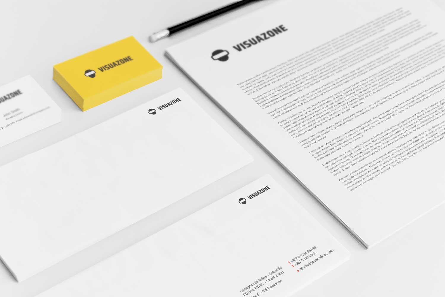 Sample branding #3 for Visuazone