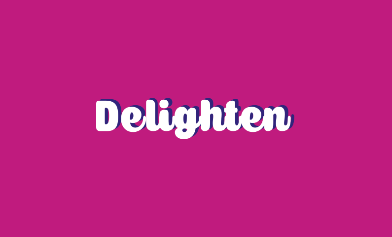Delighten - Environmentally-friendly brand name for sale