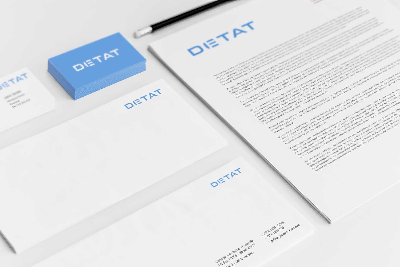 Sample branding #3 for Detat