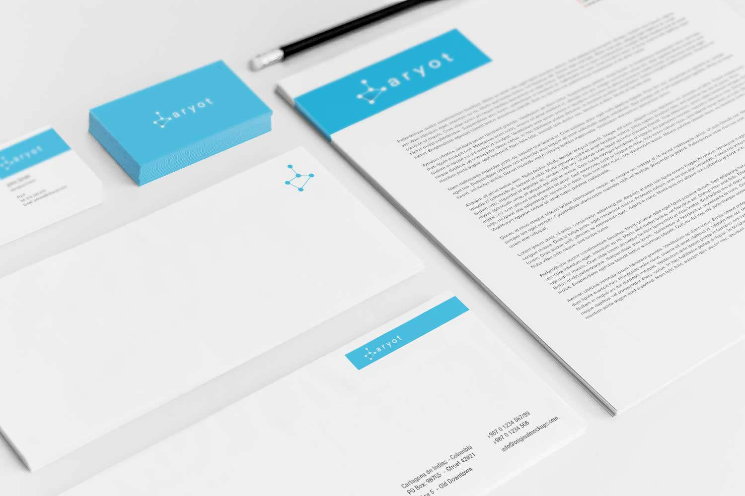 Sample branding #3 for Aryot