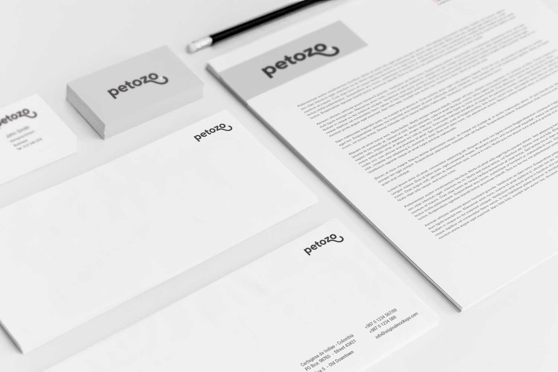 Sample branding #3 for Petozo