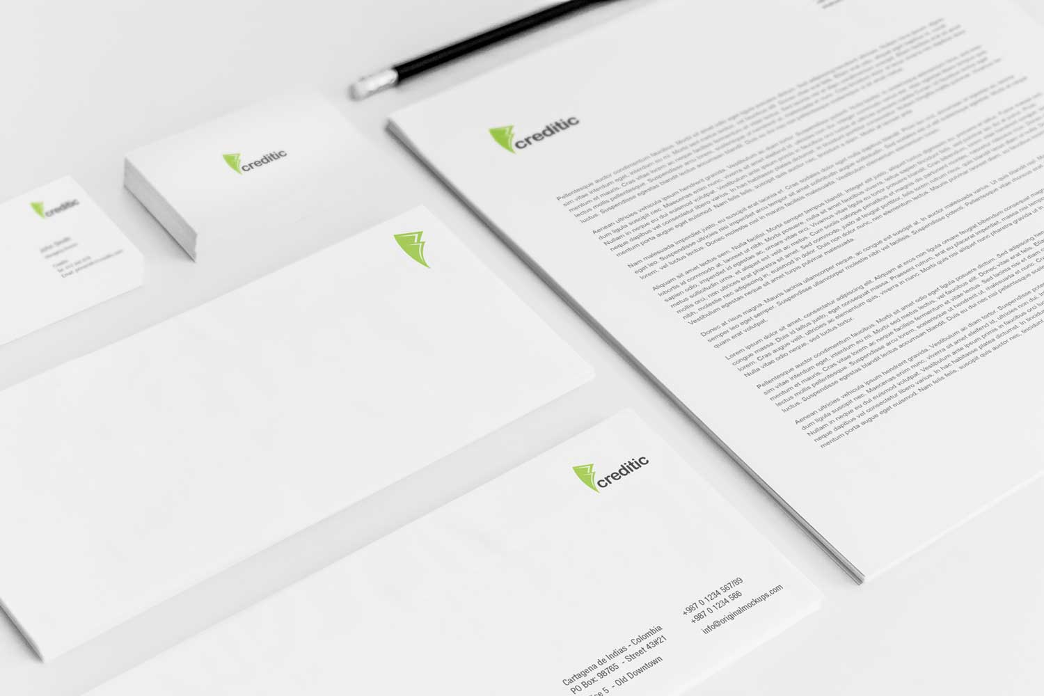 Sample branding #2 for Creditic