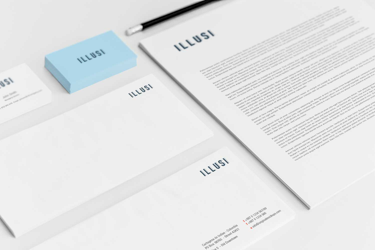 Sample branding #3 for Illusi