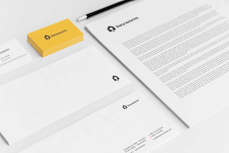 Sample branding #3 for Keyworm